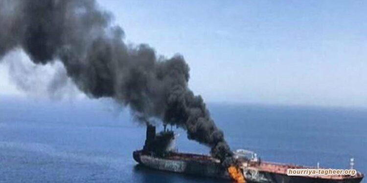 انفجار لغم بناقلة بحرية يونانية في ميناء الشقيق السعودي