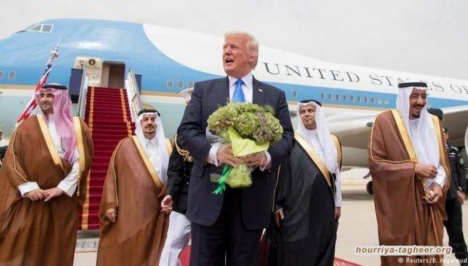 ماذا وراء العلاقة المريبة بين ترامب وال سعود