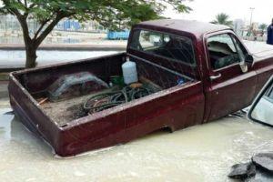 حي النوارية بمكة يغرق بسبب هطول امطار والمواطن يسأل خالد الفيصل اين ذهبت مليارات الصرف الصحي ؟؟