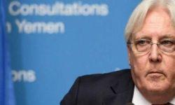 """غريفيث يحذر من تداعيات تصنيف أمريكا حركة أنصار الله """"منظمة إرهابية"""""""