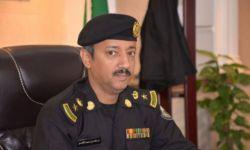 إصابة مدير الدوريات الأمنية في المدينة المنورة واثنين من مرافقيه