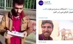 قناة العربية توظف كردي مزقّ القرآن مراسلا في شمال سوريا