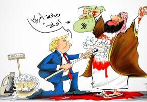 ترامب ينظف محمد بن سلمان من دماء الابرياء
