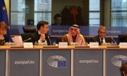 الجُبير يسرد جملة من التناقضات أمام البرلمان الأوروبي